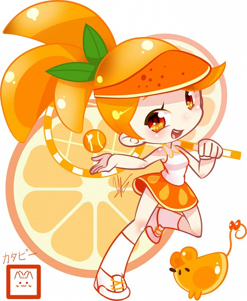 Orange Cookie - Cookie Run