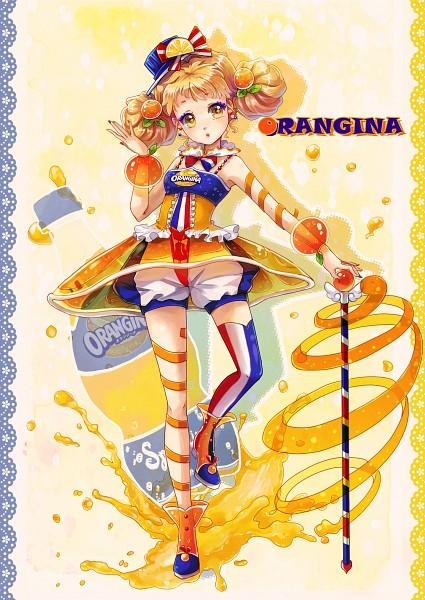 Tags: Anime, Dorris, Orangina-tan, Juice, Pixiv