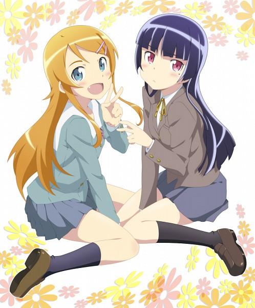 Tags: Anime, Smile (RZ), Ore no Imouto ga Konna ni Kawaii Wake ga Nai, Kousaka Kirino, Gokou Ruri, Pixiv, Fanart, My Little Sister Can't Be This Cute