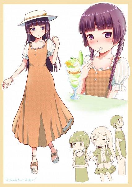 Tags: Anime, Herunin, Ore no Imouto ga Konna ni Kawaii Wake ga Nai, Kousaka Kyousuke, Kousaka Kirino, Gokou Ruri, My Little Sister Can't Be This Cute