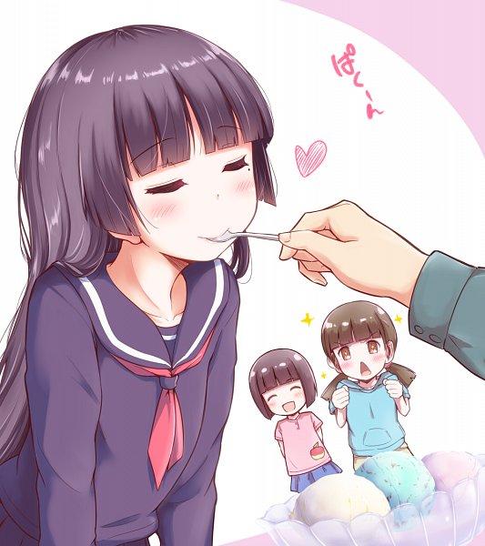 Tags: Anime, Herunin, Ore no Imouto ga Konna ni Kawaii Wake ga Nai, Gokou Tamaki, Gokou Ruri, Gokou Hinata, My Little Sister Can't Be This Cute