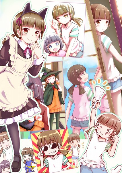 Tags: Anime, Herunin, Ore no Imouto ga Konna ni Kawaii Wake ga Nai, Gokou Ruri, Gokou Hinata, Gokou Tamaki, My Little Sister Can't Be This Cute
