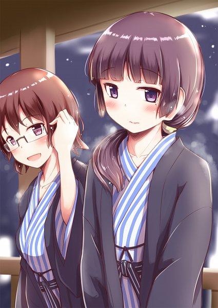 Tags: Anime, Herunin, Ore no Imouto ga Konna ni Kawaii Wake ga Nai, Akagi Sena, Gokou Ruri, My Little Sister Can't Be This Cute