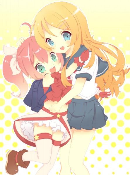 Tags: Anime, Kinako (Mai1112), Ore no Imouto ga Konna ni Kawaii Wake ga Nai, Meruru, Kousaka Kirino, Pixiv, My Little Sister Can't Be This Cute