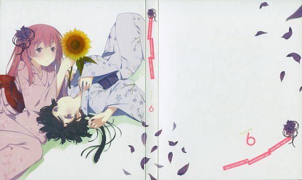 Tags: Anime, Ruroo, Ore no Kanojo to Osananajimi ga Shuraba Sugiru, Akishino Himeka, Fuyuumi Ai, Scan, DVD (Source), Wallpaper, Official Art