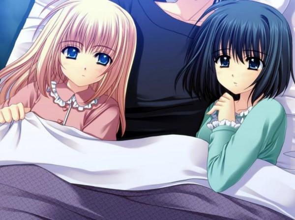 Tags: Anime, Navel (Studio), Oretachi ni Tsubasa wa Nai, Haneda Youji, Alice (Oretsuba), Haneda Kobato, CG Art, We Without Wings