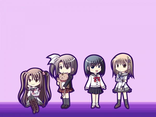 Tags: Anime, Navel (Studio), Oretachi ni Tsubasa wa Nai, Watari Asuka, Ootori Naru, Haneda Kobato, Tamaizumi Hiyoko, Wallpaper, We Without Wings