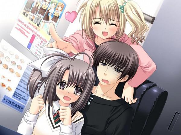 Tags: Anime, Navel (Studio), Oretachi ni Tsubasa wa Nai, Narita Hayato, Kouda Ai, Ootori Naru, CG Art, We Without Wings