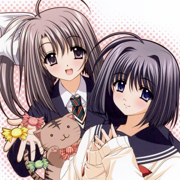 Tags: Anime, Navel (Studio), Oretachi ni Tsubasa wa Nai, Haneda Kobato, Ootori Naru, Official Art, We Without Wings