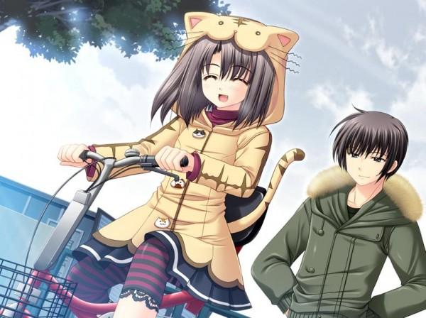 Tags: Anime, Navel (Studio), Oretachi ni Tsubasa wa Nai, Narita Hayato, Ootori Naru, CG Art, We Without Wings