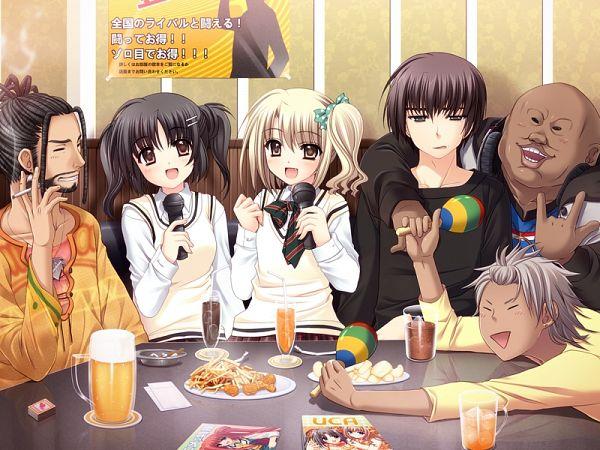Tags: Anime, Nishimata Aoi, Navel (Studio), Oretachi ni Tsubasa wa Nai, Kana Nakata, Narita Hayato, Kouda Ai, CG Art, We Without Wings