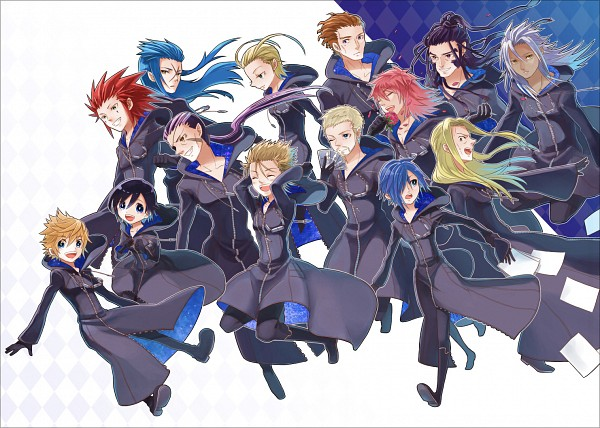 Organization XIII - Kingdom Hearts II