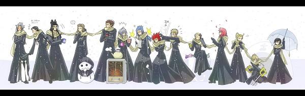 Tags: Anime, Pixiv Id 213537, Kingdom Hearts, Kingdom Hearts II, Kingdom Hearts 358/2 Days, Larxene, Xaldin, Zexion, Luxord, Xigbar, Xemnas, Demyx, Saïx