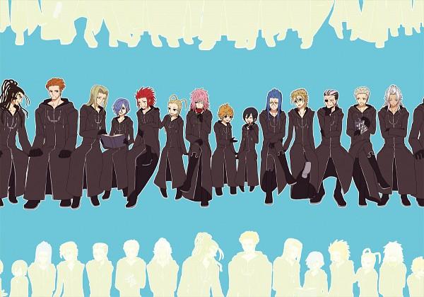 Tags: Anime, Pixiv Id 560040, Kingdom Hearts, Kingdom Hearts II, Kingdom Hearts 358/2 Days, Vexen, Xion, Axel (Kingdom Hearts), Larxene, Xaldin, Zexion, Luxord, Xigbar