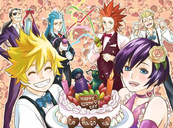 Tags: Anime, Symbols, Kingdom Hearts 358/2 Days, Kingdom Hearts II, Kingdom Hearts, Demyx, Xigbar, Roxas, Saïx, Xion, Axel (Kingdom Hearts), Organization XIII