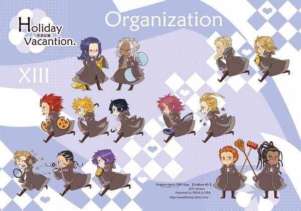 Tags: Anime, SQUARE ENIX, Kingdom Hearts, Kingdom Hearts II, Kingdom Hearts 358/2 Days, Xaldin, Zexion, Luxord, Xigbar, Xemnas, Demyx, Saïx, Roxas