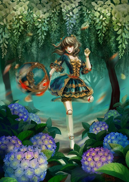 Tags: Anime, Lamierfang, League of Legends, Orianna, deviantART, Fanart, Fanart From DeviantART, Mobile Wallpaper
