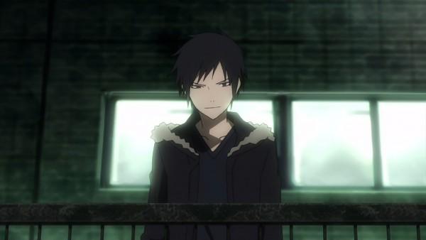 Tags: Anime, Brains Base (Studio), DURARARA!!, Orihara Izaya, Screenshot, Izaya Orihara