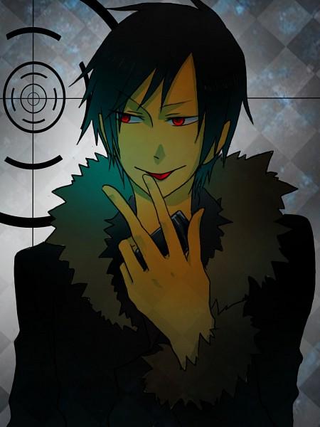 Tags: Anime, DURARARA!!, Orihara Izaya, Licking Finger Tip, Artist Request, Izaya Orihara