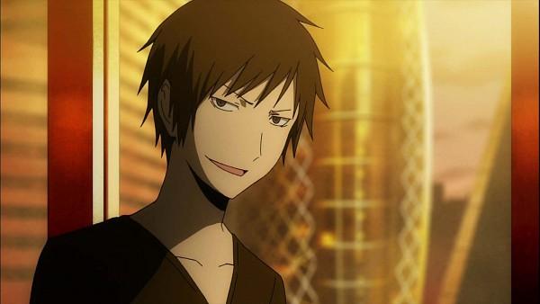 Tags: Anime, DURARARA!!, Orihara Izaya, Screenshot, HD Wallpaper, Wallpaper, Facebook Cover, Izaya Orihara