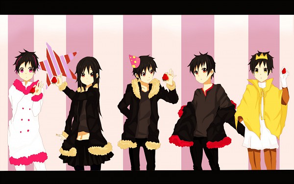 Tags: Anime, DURARARA!!, Orihara Izaya, K-ON! (Parody), Psychedelic Dreams, Hachimenroppi Izaya, Subarashii Hibi, Izaya Orihara