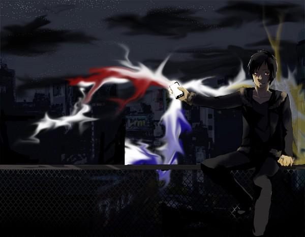 Tags: Anime, Pixiv Id 3254936, DURARARA!!, Orihara Izaya, Pixiv, Fanart, Izaya Orihara