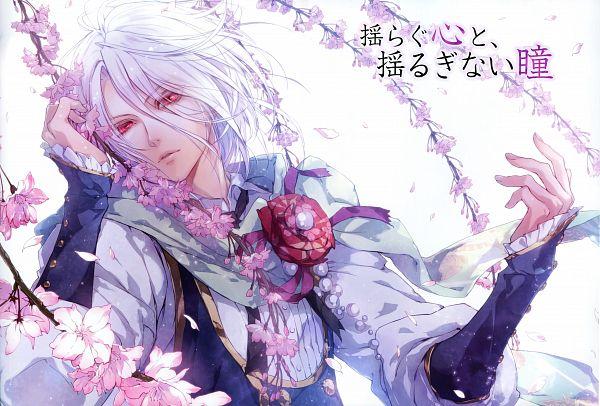 Tags: Anime, Usuba Kagerou, IDEA FACTORY, Reine des fleurs, Orpheus (Reine des fleurs), Magazine (Source), Scan, Official Art