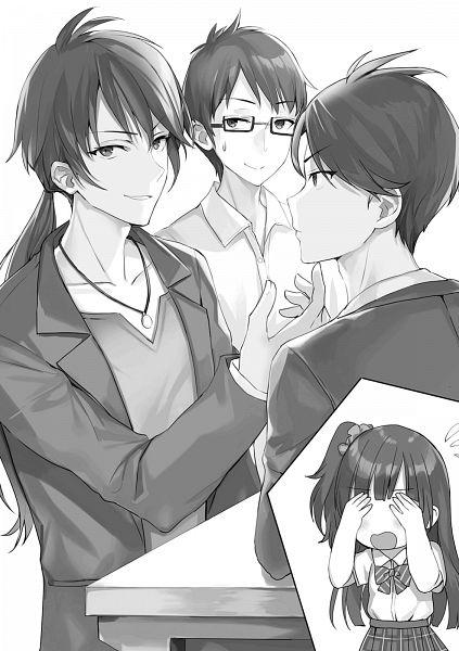 Tags: Anime, Momoko (Momopoco), Oshiego ni Kyouhaku Sareru no wa Hanzai desu ka? 1 Jikan-me, Character Request, Novel Illustration, Official Art