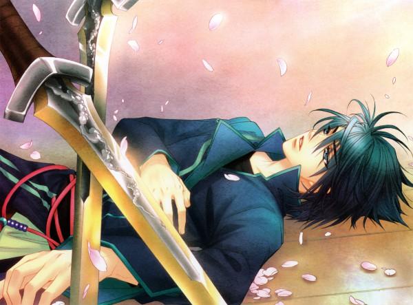Tags: Anime, Mizuno Tohko, Harukanaru Toki no Naka de 4, Oshihito Katsuragi, Official Art
