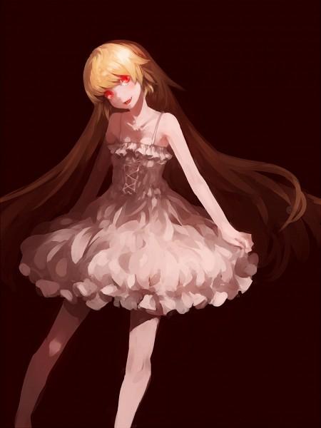 Tags: Anime, Sigure (Drizzle), Monogatari, Oshino Shinobu, Ballerina Outfit, Fanart, Pixiv, Fanart From Pixiv