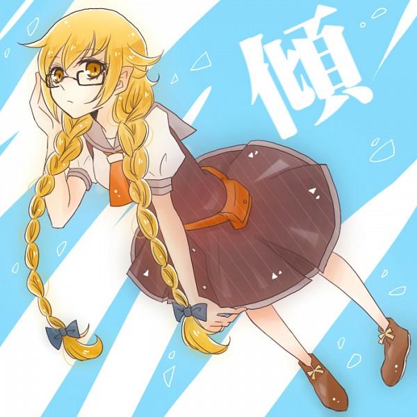 Tags: Anime, Pixiv Id 583888, Monogatari, Oshino Shinobu, Pixiv