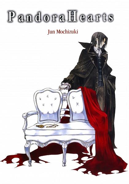 Tags: Anime, Mochizuki Jun, SQUARE ENIX, Pandora Hearts, Oswald Baskerville, Pocket Watch, Manga Color, Official Art, Manga Cover, Scan, Mobile Wallpaper, Baskerville