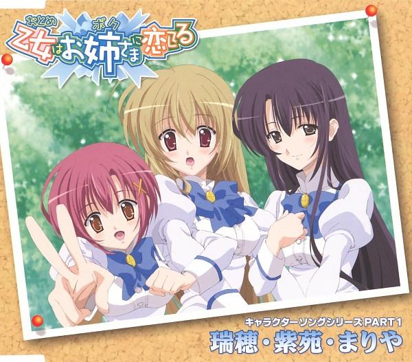 Tags: Anime, Otome wa Boku ni Koishiteru, Mikado Mariya, Jyuujyou Shion, Miyanokouji Mizuho