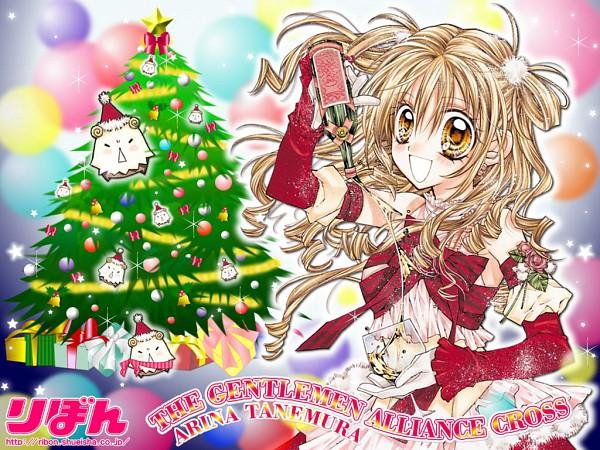 Tags: Anime, Tanemura Arina, Shinshi Doumei Cross, Otomiya Haine, Official Wallpaper, Wallpaper, Official Art
