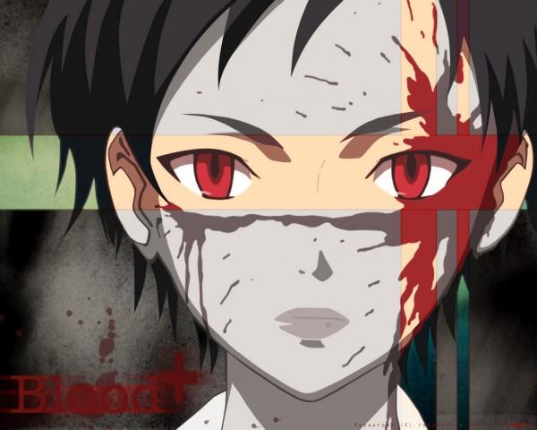Tags: Anime, Ishii Akiharu, Production I.G., Blood+, Otonashi Saya, Wallpaper, Official Art, Screenshot