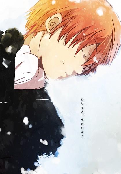 Tags: Anime, Rass, Angel Beats!, Otonashi Yuzuru, Pixiv, Mobile Wallpaper, Fanart