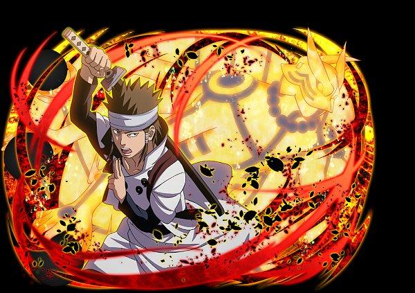 Tags: Anime, NARUTO, Otsutsuki Asura, Bijuu Mode, Official Art, Otsutsuki Clan