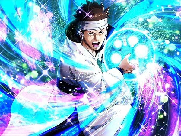 Tags: Anime, NARUTO, Otsutsuki Asura, Glowing Background, Official Art, Otsutsuki Clan
