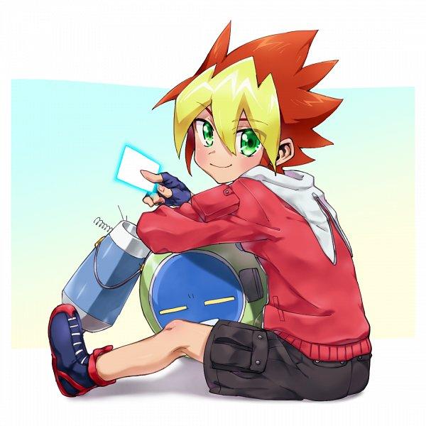 Tags: Anime, Yu-Gi-Oh! SEVENS, Oudou Yuuga, Fanart From Pixiv, PNG Conversion, Pixiv, Fanart