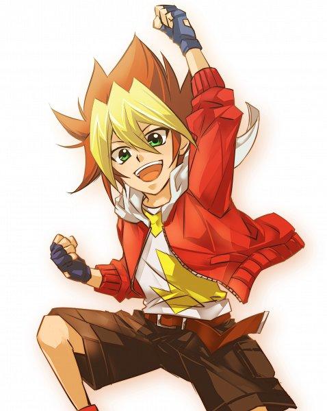 Tags: Anime, Yu-Gi-Oh! SEVENS, Oudou Yuuga, Fanart From Pixiv, Pixiv, Fanart