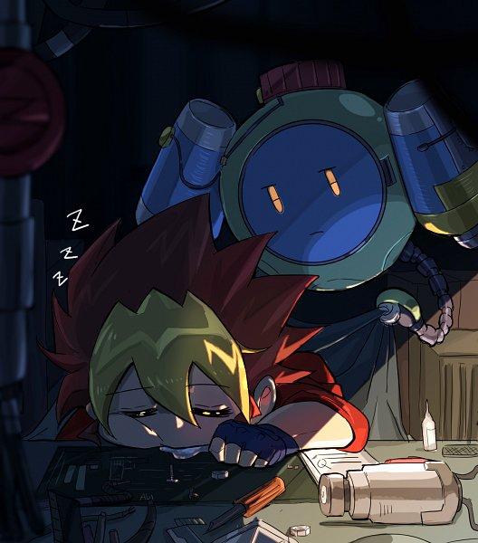 Tags: Anime, Pixiv Id 2813466, Yu-Gi-Oh! SEVENS, Yu-Gi-Oh!, Kaizo (Yu-Gi-Oh! SEVENS), Oudou Yuuga, Fanart, Fanart From Pixiv, Pixiv