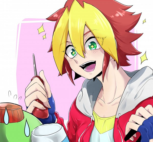 Tags: Anime, Yu-Gi-Oh! SEVENS, Oudou Yuuga, Pixiv, Fanart