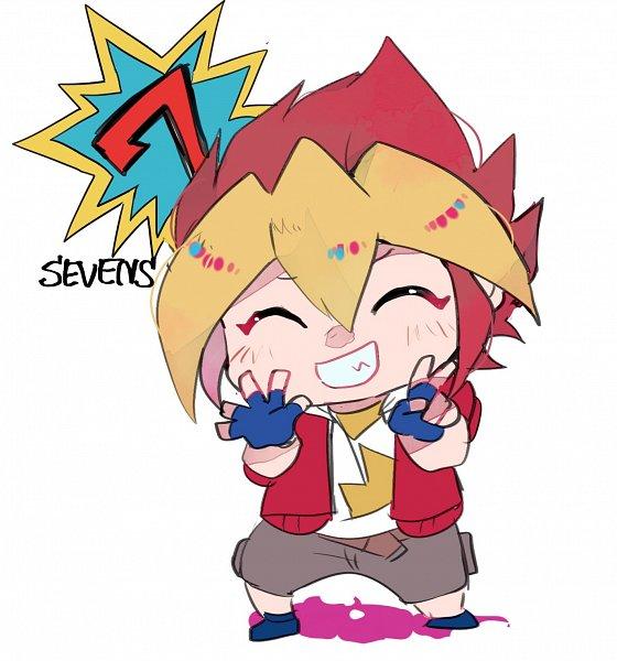 Tags: Anime, Pixiv Id 18226743, Yu-Gi-Oh!, Yu-Gi-Oh! SEVENS, Oudou Yuuga, Fanart, Twitter