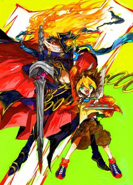 Tags: Anime, Yu-Gi-Oh! SEVENS, Yu-Gi-Oh!, Seventh Road Magician, Oudou Yuuga, Tumblr, Fanart