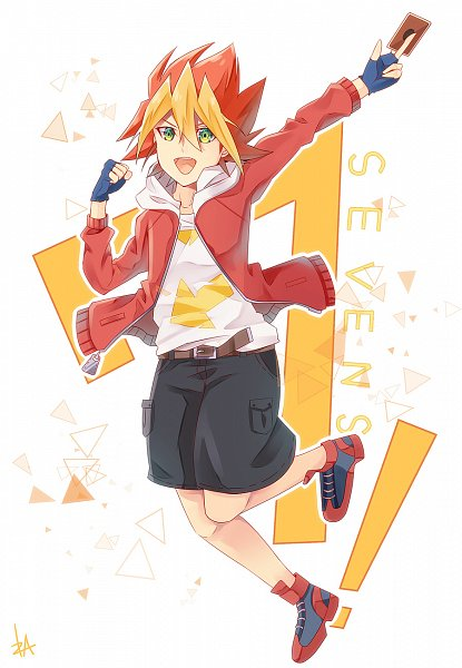 Tags: Anime, Pixiv Id 121476, Yu-Gi-Oh!, Yu-Gi-Oh! SEVENS, Oudou Yuuga, Fanart From Pixiv, Pixiv, Fanart