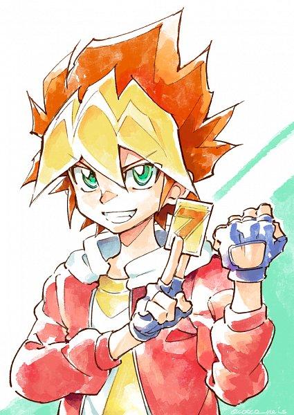 Tags: Anime, Cocconeis, Yu-Gi-Oh! SEVENS, Yu-Gi-Oh!, Oudou Yuuga, Fanart From Pixiv, Pixiv, Fanart