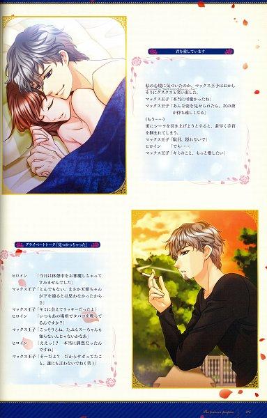 Tags: Anime, Voltage Inc. (Studio), Ouji-sama No Propose Official Visual Book, Ouji-sama no Propose, Maximilien Levaincois, Official Art, Self Scanned, Scan, Mobile Wallpaper, CG Art