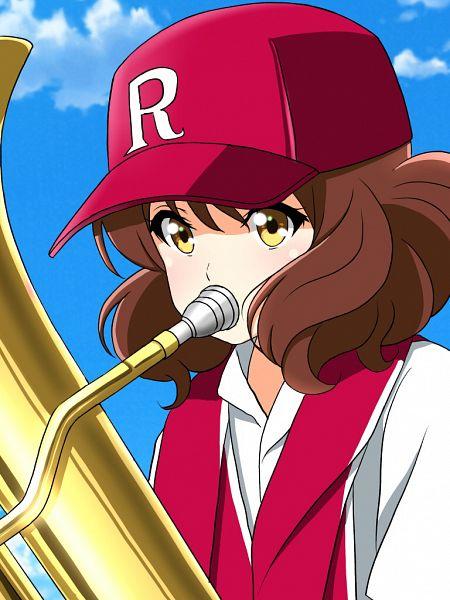 Tags: Anime, Pixiv Id 11555787, Hibike! Euphonium, Oumae Kumiko, Trumpet, Fanart From Pixiv, Pixiv, Fanart