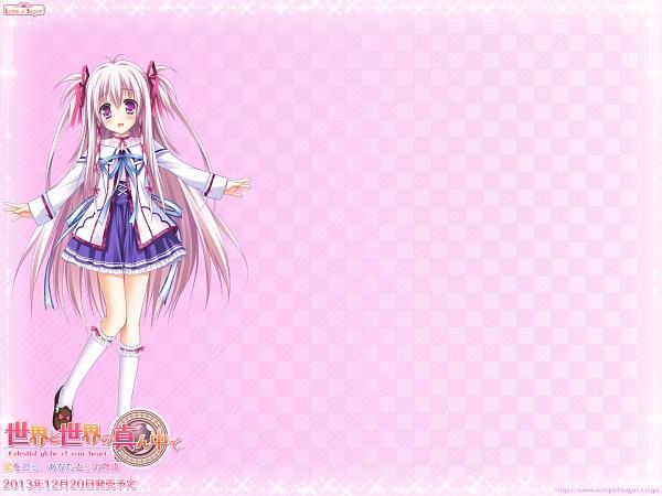 Tags: Anime, Moekibara Fumitake, Lump of Sugar, Sekai to Sekai no Mannaka de, Oumi Kokoro, 1920x1440 Wallpaper, Official Wallpaper, Twitter Wallpaper, Official Art, Wallpaper
