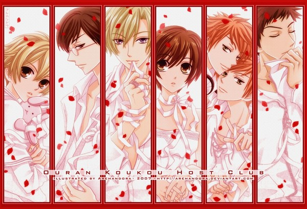 Ouran High School Host Club - Hatori Bisco